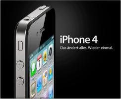 Apple iPhone 4, 32 GB, SIM- UND NETLOCK FREI, Neu mit Rechnung und Garantie
