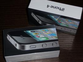 Foto 2 Apple iPhone 4, 32 GB, SIM- UND NETLOCK FREI, Neu mit Rechnung und Garantie