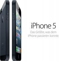 Apple iPhone 5 64GB schwarz im Tarif D1 Flat Smart +10 Duo nur 1€