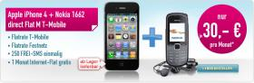 Apple iPhone4 +Nokia1662 direct Flat M  T-Mobile