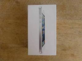 Apple phone 5 mit 64 GB in der Farbe weiß/silber (Ohne Simlock)...  Neu- Ungeöffnet