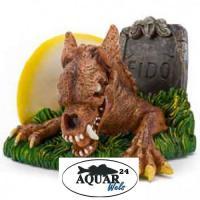 Aquarium Dekoration Glows in the Dark Zombie Dog
