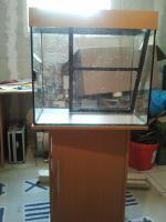 Aquarium Juwel 120 l mit Unterschrank