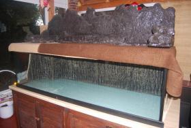 Foto 6 Aquarium / Becken 840l mit Zubehör ohne Fische