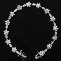 Foto 4 Armband Silber 925 Zirkonia höchste AAA Qualität