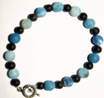Armband ausAchat-Perlen