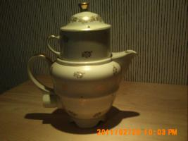 Aromator - Kaffeemaschine aus den 60-er Jahren, aus Porzellan