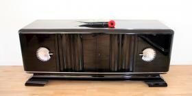 Art Deco Sideboard 20er schwarz Hochglanz *Klavierlack* Preis: 2.500 EUR VB