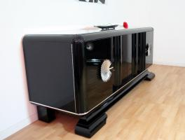 Foto 2 Art Deco Sideboard 20er schwarz Hochglanz *Klavierlack* Preis: 2.500 EUR VB