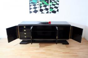 Foto 4 Art Deco Sideboard 20er schwarz Hochglanz *Klavierlack* Preis: 2.500 EUR VB