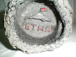 Aschenbecher aus Vulkangestein!