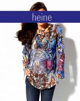 Ashley Brooke - Designer-Chiffontunika bunt Gr. 36 - OVP - NEU