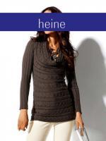 Ashley Brooke - Designer-Pullover braun Gr. 40 - OVP