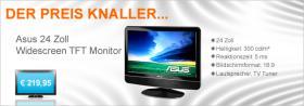 Foto 2 Asus 24 Zoll Widescreen TFT Monitor (24T1E / schwarz) + DVB-T