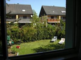 ruhiger geschützter Garten