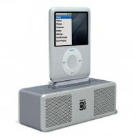 Audiosystem Pocket Hi-Fi Silver Digifocus iPod