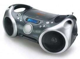 Audiosystem PortCD/MP3-Radio BoomBox Memorex iPod