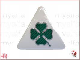 Aufkleber Emblem Kleeblatt 100mm NEU