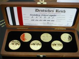 Auflösung Münzsammlung Deutsches Reich