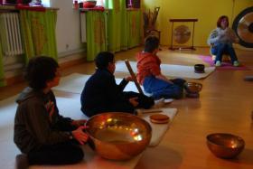 Foto 13 Ausbildung, Klangtherapie, Klangmassage, Seminare Gong,