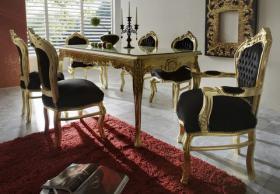 Ausgefallene Barock und Rokoko Möbel in schrillen Farben