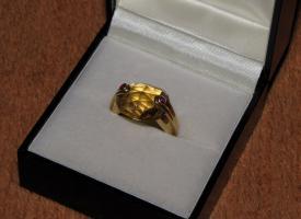 Ausgefallener Designer-Ring von 'Antonini'