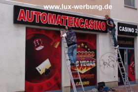 Foto 21 Außenwerbung Leuchtreklame Leuchtwerbung Leuchtkästen Leuchtbuchstaben beleuchtete Schriftzüge 3D LED Einzelbuchstaben Reklame Werbung   Gewerbeimmobilien 3D LED RGB
