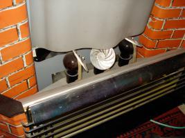 Foto 4 Außergewöhnlicher Heizkorper in Form einer Kamine, Wärmend mit Licht !! Kunstoff Kamine 60- 70er : Voll funktionfähig