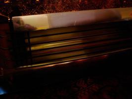 Foto 7 Außergewöhnlicher Heizkorper in Form einer Kamine, Wärmend mit Licht !! Kunstoff Kamine 60- 70er : Voll funktionfähig