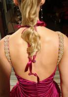 Foto 3 Außergewöhnliches Abendkleid in Plisse Unsere Sonderangebote