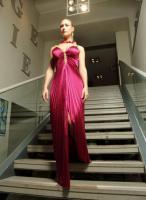 Foto 4 Außergewöhnliches Abendkleid in Plisse Unsere Sonderangebote
