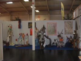 Foto 2 Ausstellungsmöglichkeit für meine Skulpturen und Bilder