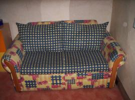 Ausziehbares Sofa - Bett
