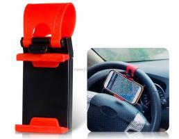 Auto Halterung Handyhalter einstellbar schwarz und rot