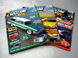 Auto und Motorradmagazine Chrom&Flammen, Hot Car, Wheels usw.