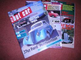 Foto 2 Auto und Motorradmagazine Chrom&Flammen, Hot Car, Wheels usw.