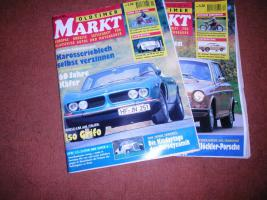 Foto 4 Auto und Motorradmagazine Chrom&Flammen, Hot Car, Wheels usw.
