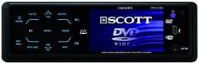 Auto-Radio SCOTT ''DRX 630'' 3''/76mm Display, DVD/CD/MP3/MPG4, USB