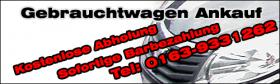 Autoankauf Nordrhein Westfalen Telefon: 02307-281571