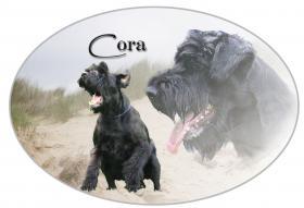 Autoaufkleber vom Bild Ihres Hundes