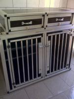 Autodoppelbox f�r Hunde