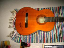 Foto 17 Autogramme...Gitarren...LP''s