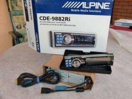 Autoradio Alpine CDE-988 2 Ri  Usb+I-Pod Anschluß