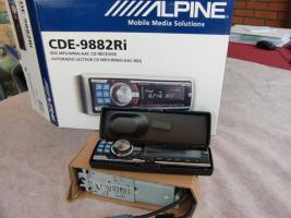 Foto 2 Autoradio Alpine CDE-988 2 Ri  Usb+I-Pod Anschluß