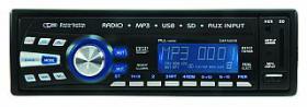Autoradio MEGAKICK ''Tahiti'' RDS, 4x40W, USB, SD-Cardslot, AUX-Eingang
