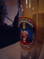 Foto 2 BIERGLAS '' POTSDAMER STANGENBIER '' von der BERLINER KINDL Brauerei
