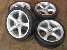 BMW 19 Zoll Alufelgen 3er E90 E91 E92 E93 Sternspeiche 230 Felgen Sommerräder
