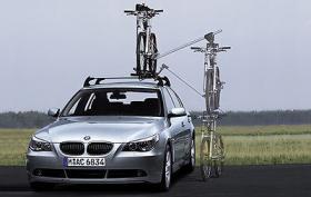 BMW E61 Fahrradlift