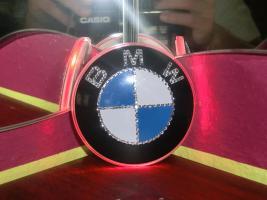 Foto 4 BMW EMBLEM Swarovski Desing veredelt(Handarbeit)mit LED