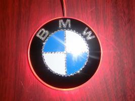 Foto 8 BMW EMBLEM Swarovski Desing veredelt(Handarbeit)mit LED
